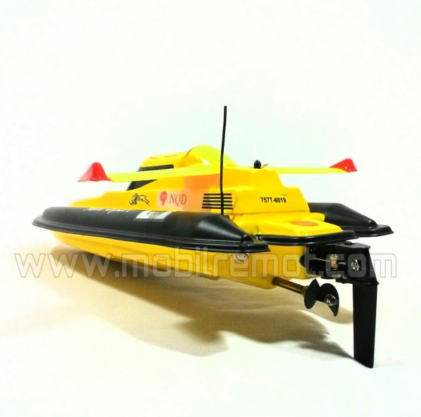 Kapal RC Boat NQD Mini Tracer Rear